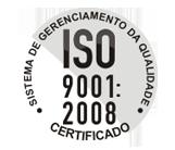 CERTIFICADO ISO 9001: 2008 - SISTEMA DE GERENCIAMENTO DE QUALIDADE